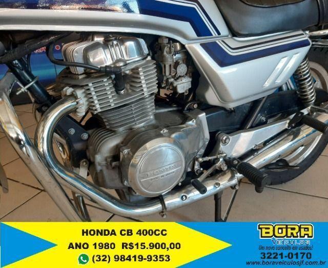 Honda CB 400 raridade!! - Foto 3