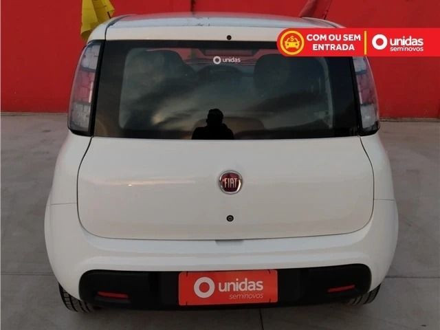 Fiat uno atractive evo flex 1.0 (sem entrada/sem comprovar renda) 2019 - Foto 4