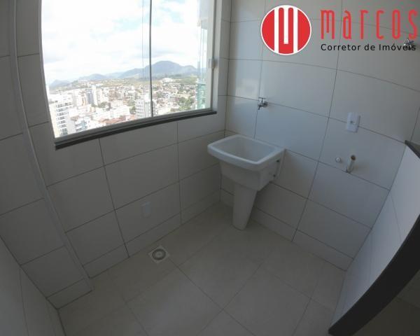 Apartamento para locação 3 quartos, amplo e novíssimo na Praia do Morro. - Foto 11