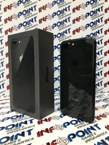 Oportunidade iPhone 8 Plus 64GB Black - seminovo - aceito iPhone na troca - Loja Centro - Foto 2