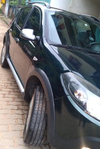 Sandero step way vendo/ troco por sedan/Civic/4008/fluence/corolla - Foto 5