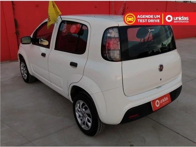 Fiat uno atractive evo flex 1.0 (sem entrada/sem comprovar renda) 2019 - Foto 3