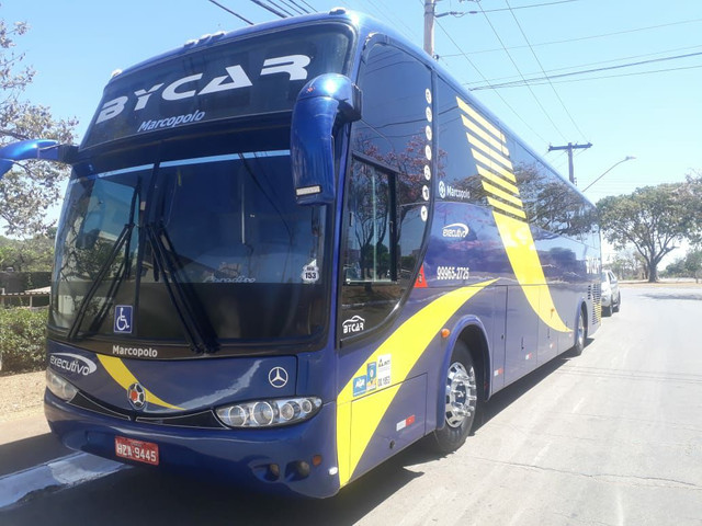 ÔNIBUS MERCEDES O500 MARCOPOLO - COM AR / BANHEIRO / FRIGOBAR - EXTRA CONSERVADO - - Foto 4