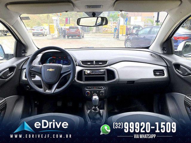 Chevrolet Onix LT 1.0 Flex 5p Mec. - Entrada no Cartão - Financio - Troco - Uber - 2015 - Foto 10