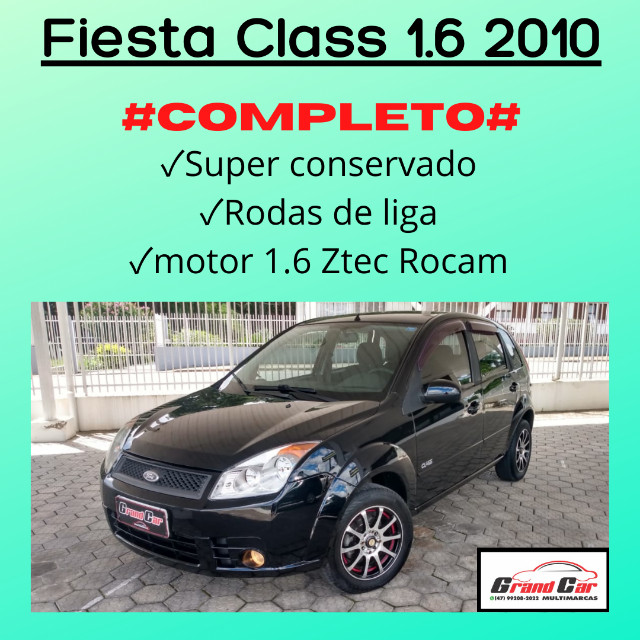 Fiesta Class 1.6 Completo/ Impecável