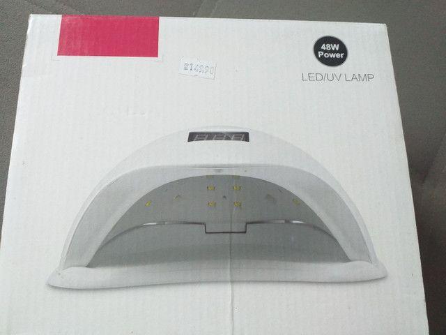 Cabine para unhas gel e fibra nova na caixa 1 vez usada - Foto 2