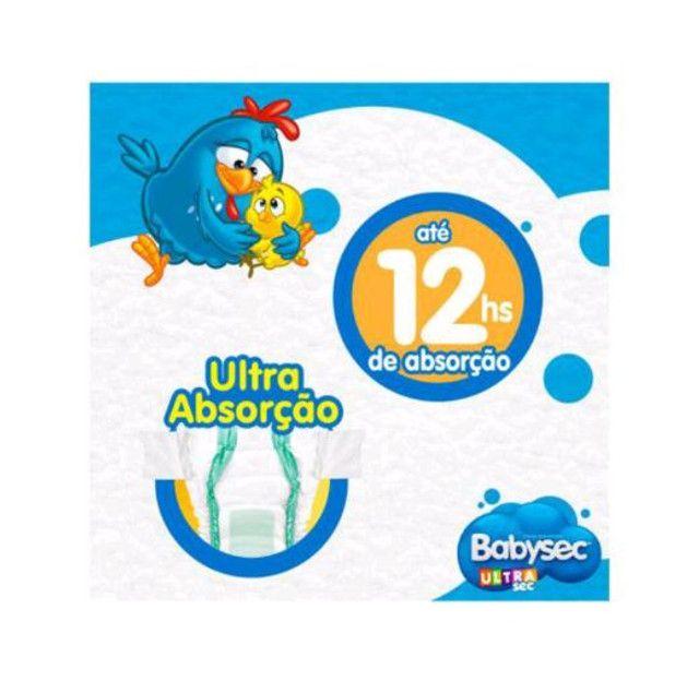 Fralda Babysec UltraSec Galinha Pintadinha M com 80 unidades.<br><br> - Foto 3