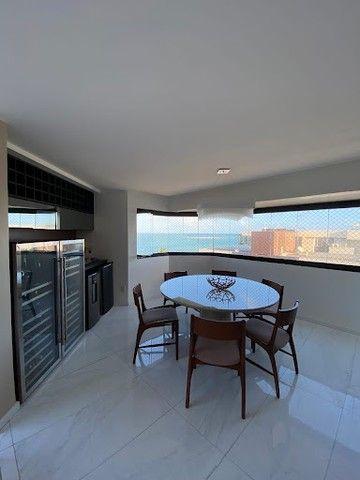 Cobertura beira mar com 4 dormitórios à venda, 498 m² por R$ 3.200.000 - Jatiúca - Maceió/ - Foto 12