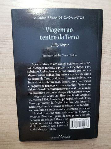 Livro Viagem ao centro da Terra - Júlio Verne - Foto 3