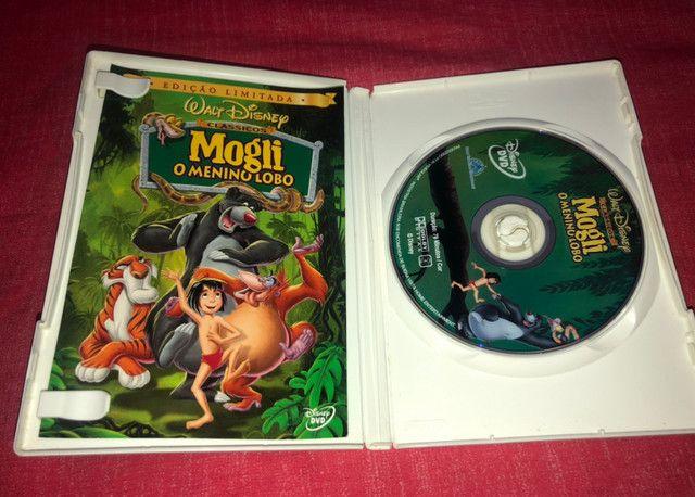 DVD Mogli - O Menino Lobo - 1ª Edição - Raríssimo - Foto 3