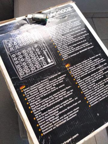 Vendo Console analógica Behringer Xenyx 1002 - Foto 5