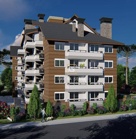 Apartamento com 2 dormitórios à venda, 105 m² por R$ 549.000,00 - Vila Suiça - Canela/RS - Foto 11