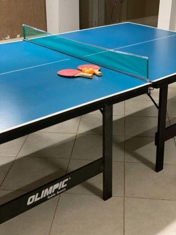 Mesa semi profissional de tênis de mesa.  - Foto 2