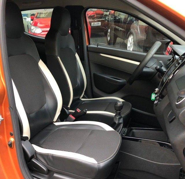 Renault Kwid 1.0 Intense Laranja Ano 2018 - Foto 10