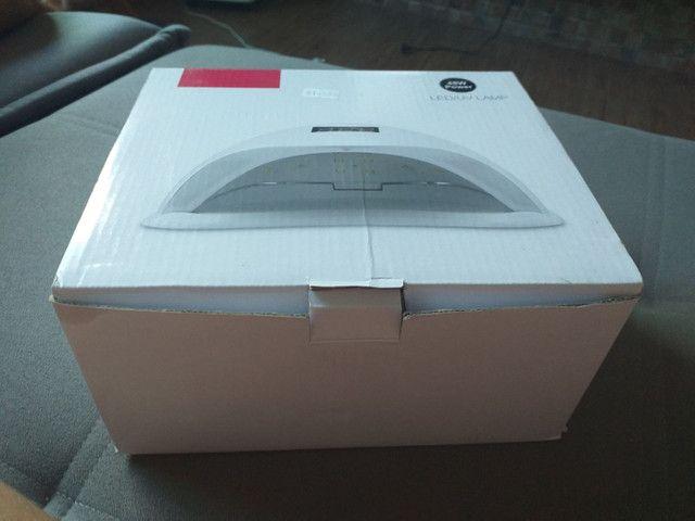 Cabine para unhas gel e fibra nova na caixa 1 vez usada