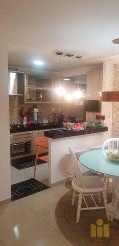 Apartamento com 3 dormitórios à venda, 85 m² por R$ 550.000 - Mangabeiras - Maceió/AL - Foto 4