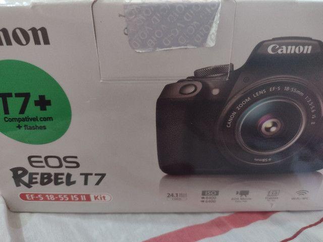 Câmera EOS REBEL T7+ CANON - Foto 6