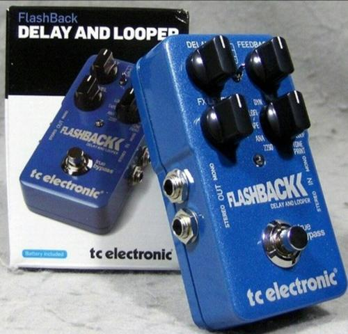 Pedal flashback Delay Tc
