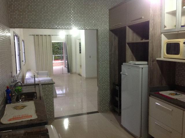 Chale novo,bem arejado,4 dormitórios,3 banheiros,piscina,sauna salao de jogos - Foto 8