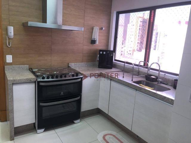 Apartamento duplex com 4 quartos, 320 m² - setor nova suiça - armarios - Foto 12