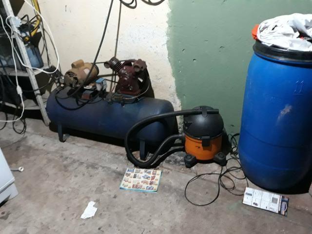 Vendo máquinas de lava rápido compressor, gong,aspirador, baldes - Foto 3