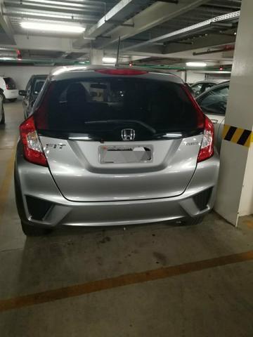 Honda Fit 2015 EXL ? Automático ? Banco de couro - Foto 3