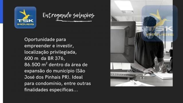 CH0369 Chácara à venda 86500 m² por R$ 1.850.000 São José dos Pinhais/PR 34 min centro Cur - Foto 11