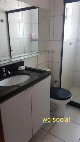 Apartamento à venda com 3 dormitórios em Agua fria, Joao pessoa cod:V1567 - Foto 13