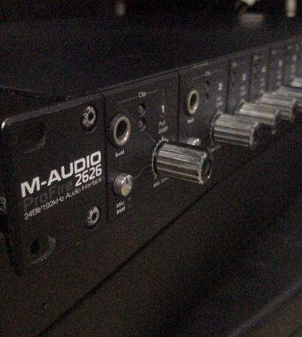 PLACA DE SOM PROFIRE 2626 m-audio