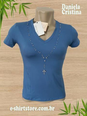 T-Shirt Fem. Daniela Cristina Santa Tam PP