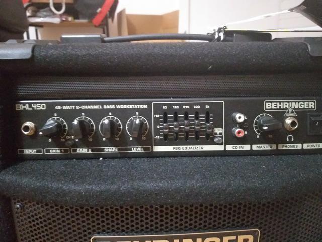 Amplificador beringher pra baixo novo - Foto 4