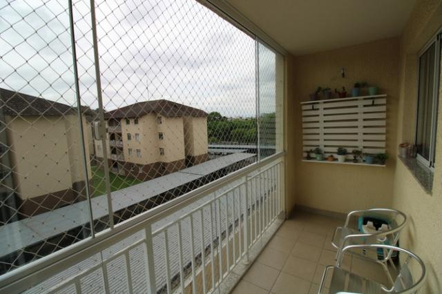 Capão Raso 3 dormitórios churrasqueira a carvão em condomínio Club - Foto 12