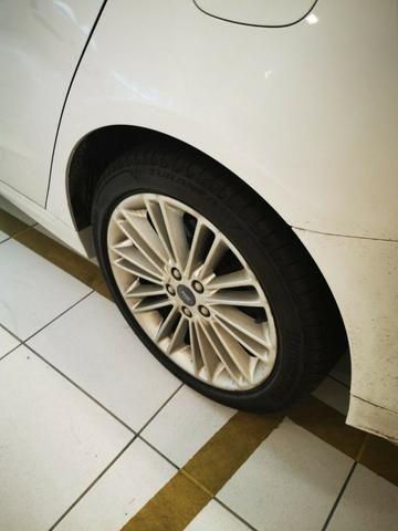 Ford/ Fusion Top de LInha - Ano 2015/2015 - Unico dono - Branco com interior caramelo - Foto 13