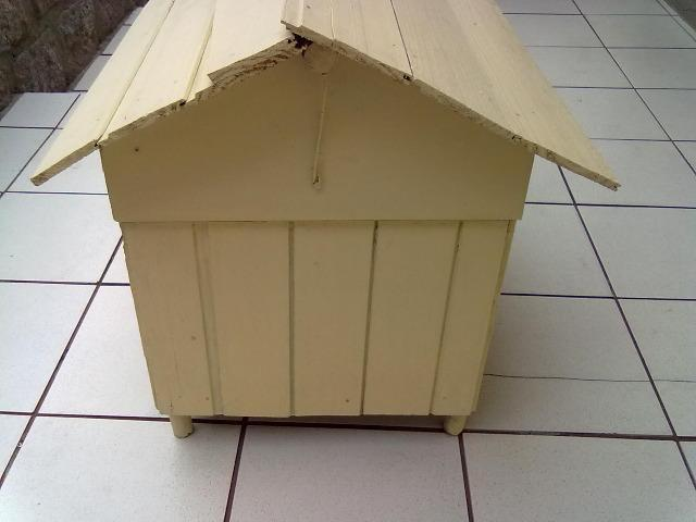 Casinha de madeira para cachorros pequenos e gatos - Foto 5