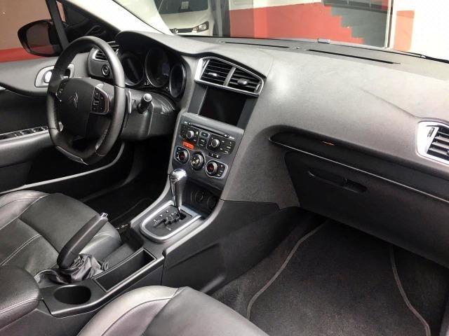 Citroen C4 Lounge Exclusive 1.6 THP 2015 Preto - Foto 7
