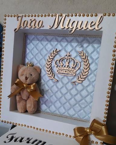 Kit Higiene Bebê Realeza Ursinho - Foto 2