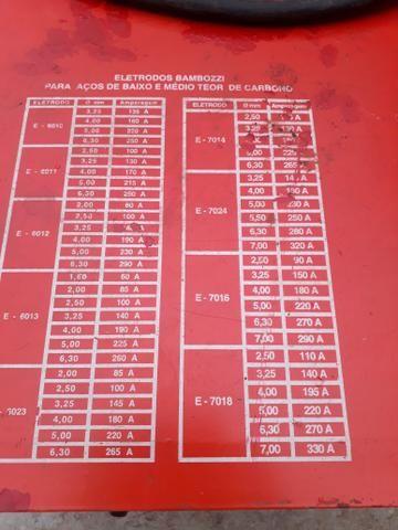 Máquina de solda bambozzi 430a trr 2600s - Foto 4