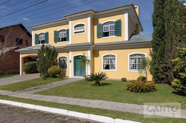 Casa com 5 dormitórios à venda, 439 m² por r$ 2.100.000,00 - santo inácio - curitiba/pr - Foto 2