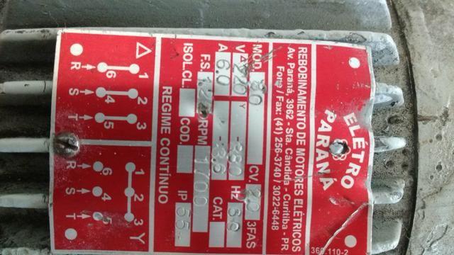 Motor trifásico 220 volts - Foto 2