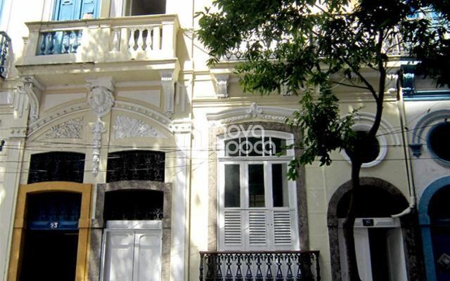 Casa à venda com 4 dormitórios em Centro, Rio de janeiro cod:FL4SB22805