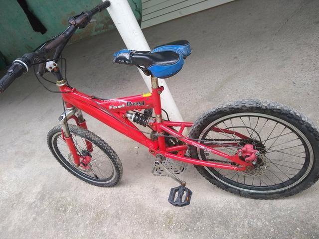 Vendo ou troco essa bicicleta por outra! - Foto 6
