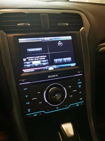 Ford/ Fusion Top de LInha - Ano 2015/2015 - Unico dono - Branco com interior caramelo - Foto 8