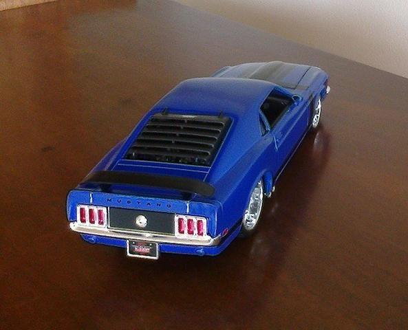 Mustang Boss 302 1970 Maisto Pro Rodz 1/24 - Foto 3
