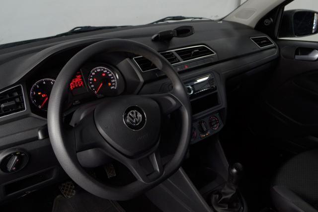 VolksWagen VOYAGE Trendline 1.6 T.Flex 8V 4p - Branco - 2018 - Foto 7