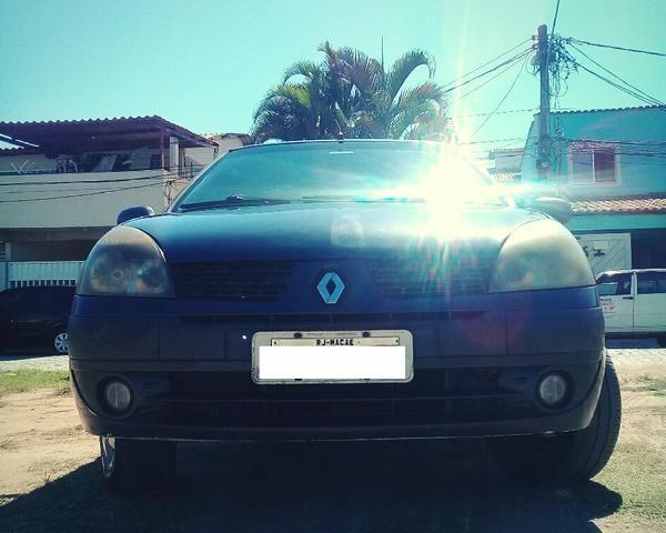 Clio Sedan 2004 1.6 16V Completo - VENDO OU TROCO POR CELTA OU PALIO - Foto 6