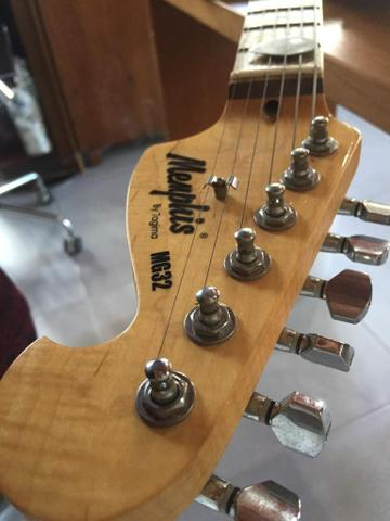 Vendo guitarra ou troco por roçadeira - Foto 2