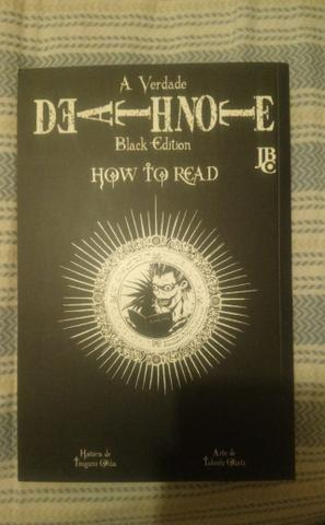 Death Note 13 (How to Read) Black Edition + Card Intacto