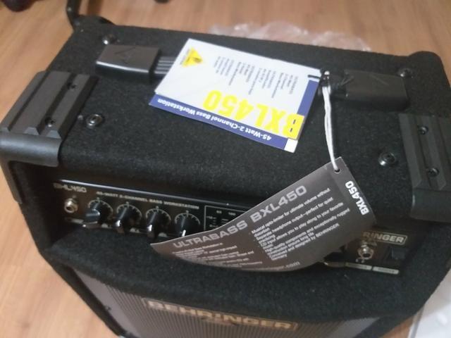 Amplificador beringher pra baixo novo - Foto 2