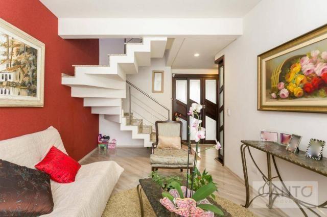 Sobrado com 3 dormitórios à venda no pilarzinho/bom retiro, 135 m² por r$ 530 mil - Foto 2