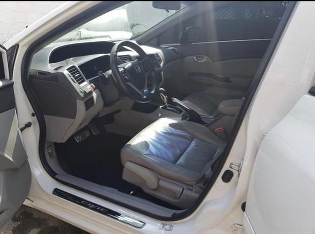 Honda Civic 1.8 2012, Completo! Não troco - Foto 3